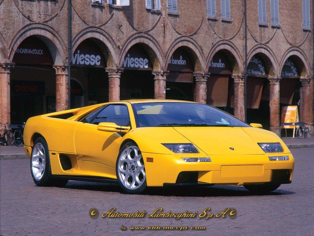 52 фото.  Lamborghini Diablo.